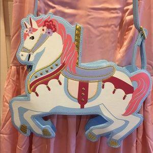 DISNEY Parks Carousel Horse Crossbody